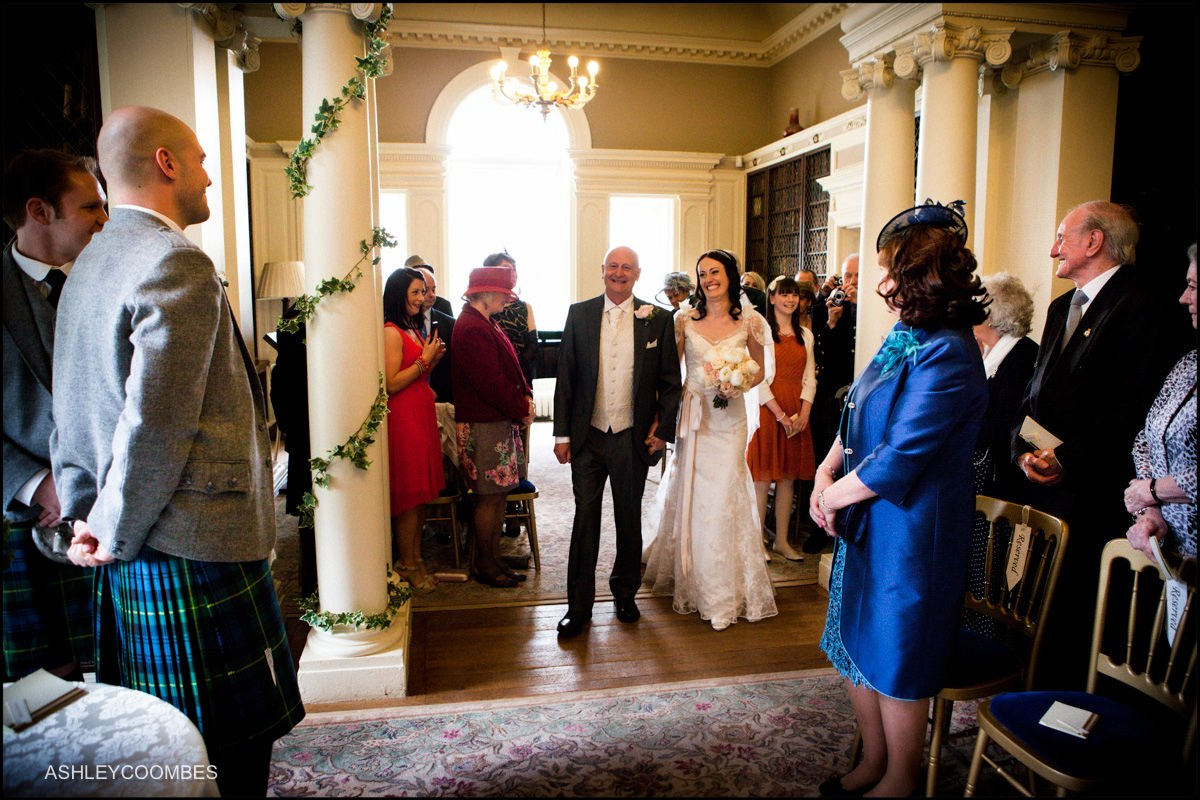 Pollok House wedding ceremony