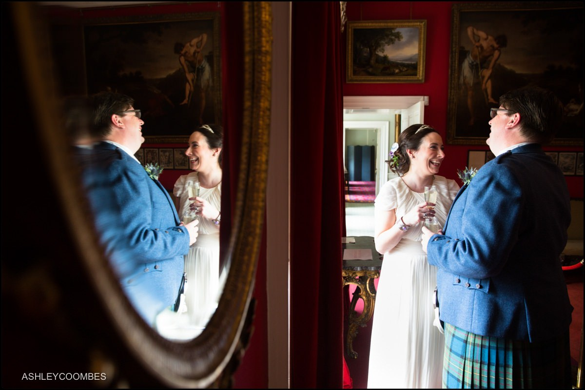 pollok house wedding