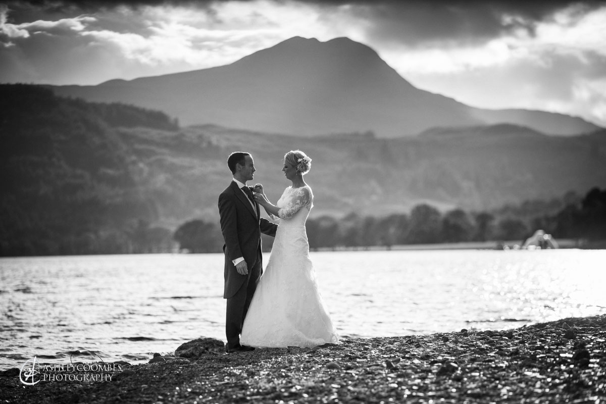 wedding portrait ben lomond
