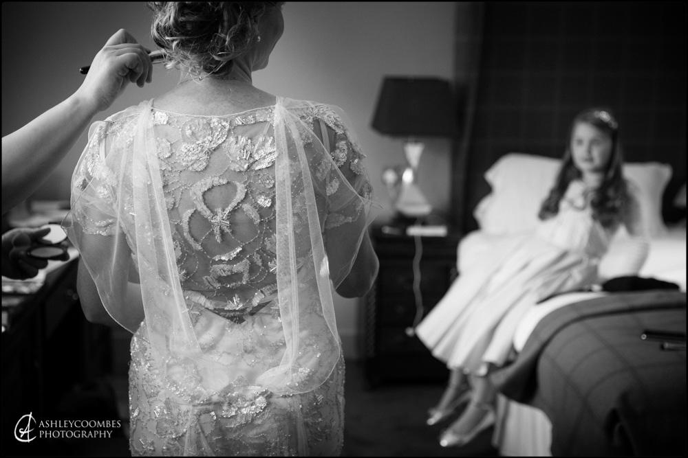 Mansfield Traquair wedding dress