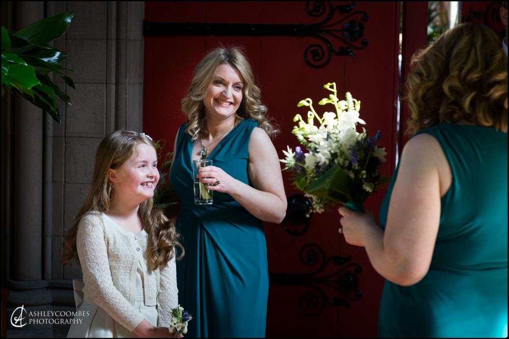 Mansfield Traquair bridesmaids