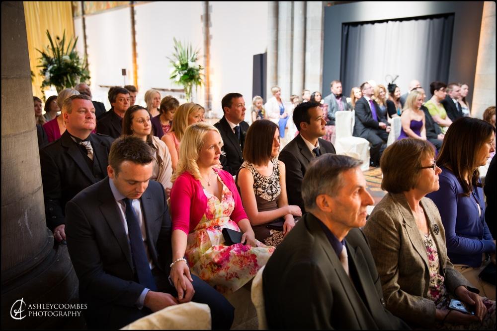 Mansfield Traquair wedding guests