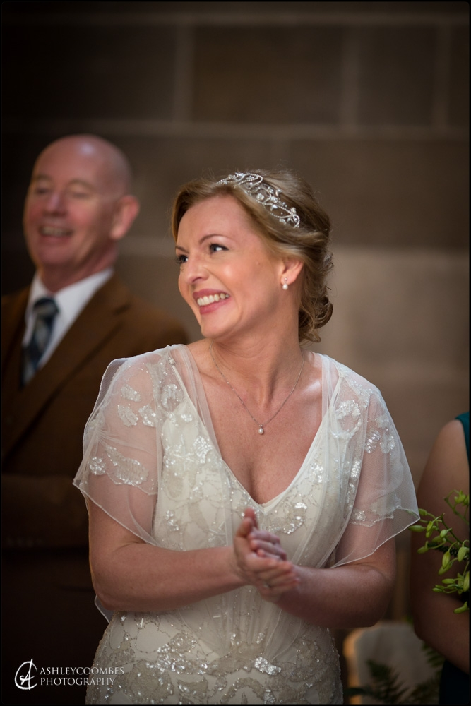 Mansfield Traquair bride