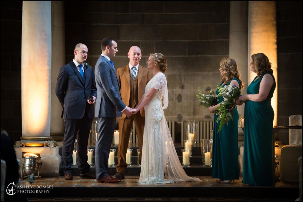 Mansfield Traquair saying vows