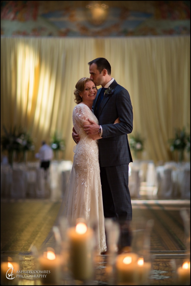 Mansfield Traquair bride groom