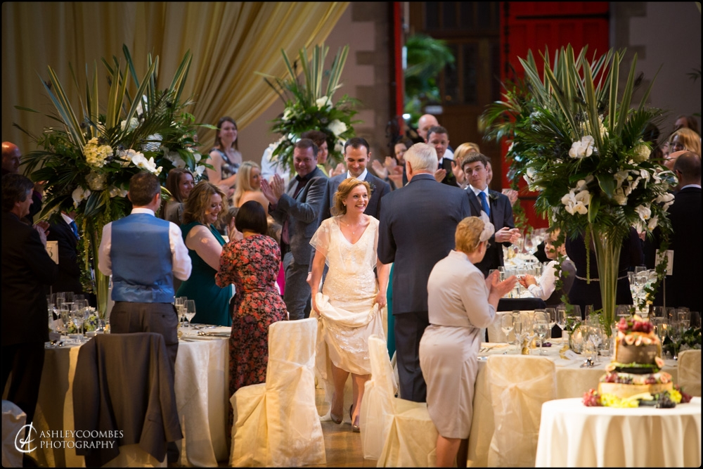 Mansfield Traquair wedding reception
