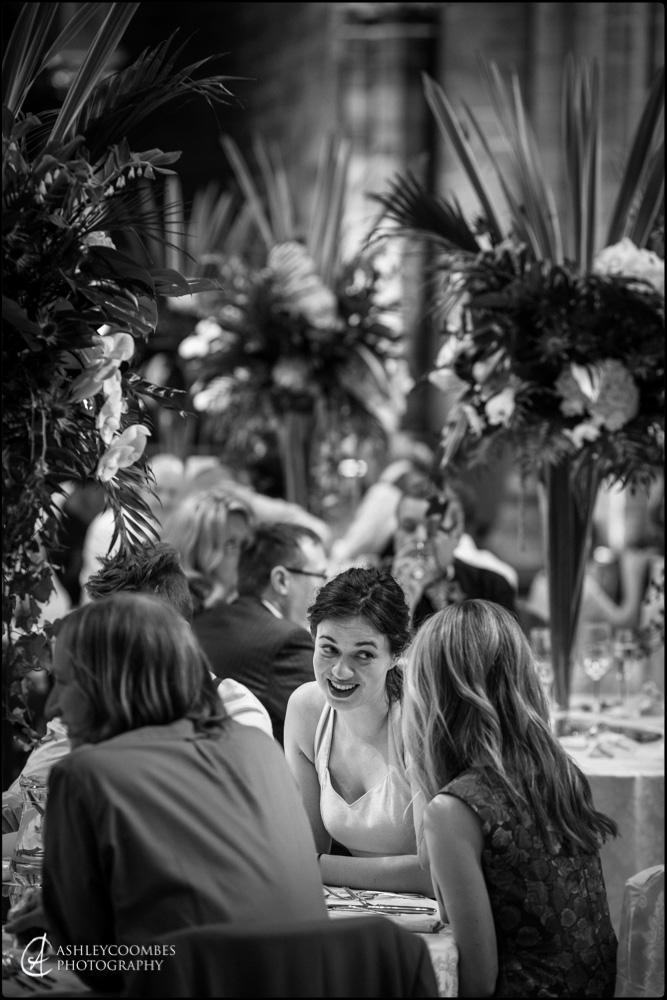 Mansfield Traquair wedding reception