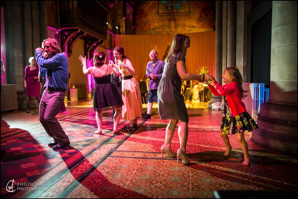 Mansfield Traquair, Wedding reception