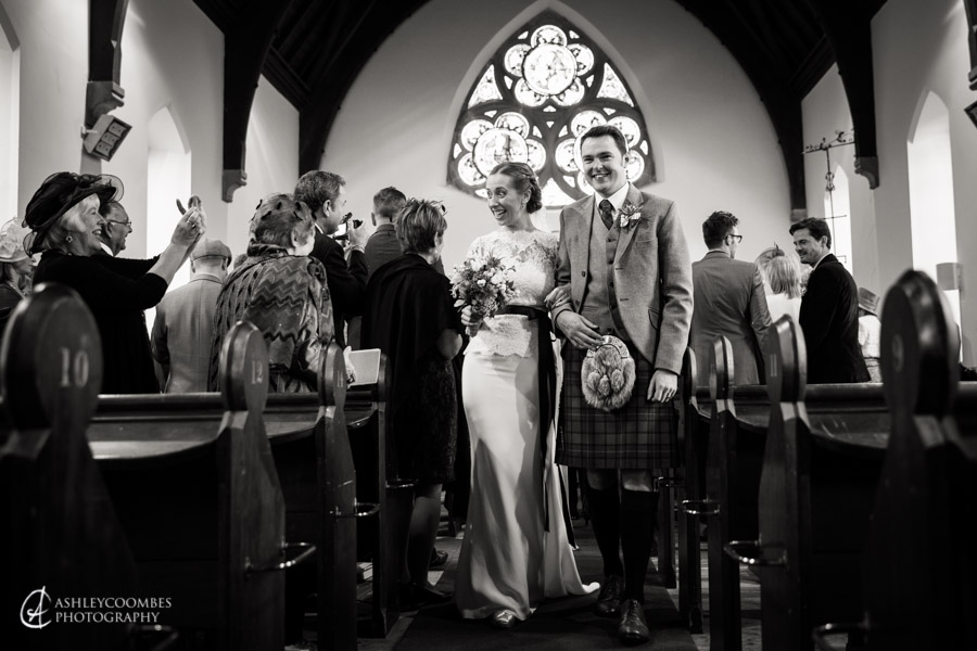Lake of Menteith wedding church recession