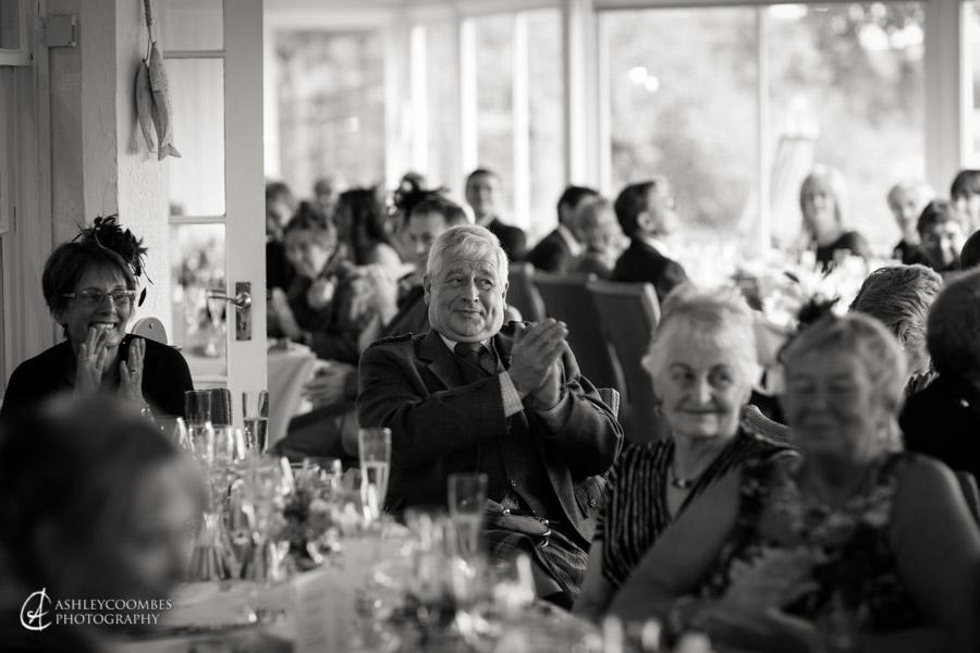 Speeches Lake Menteith wedding