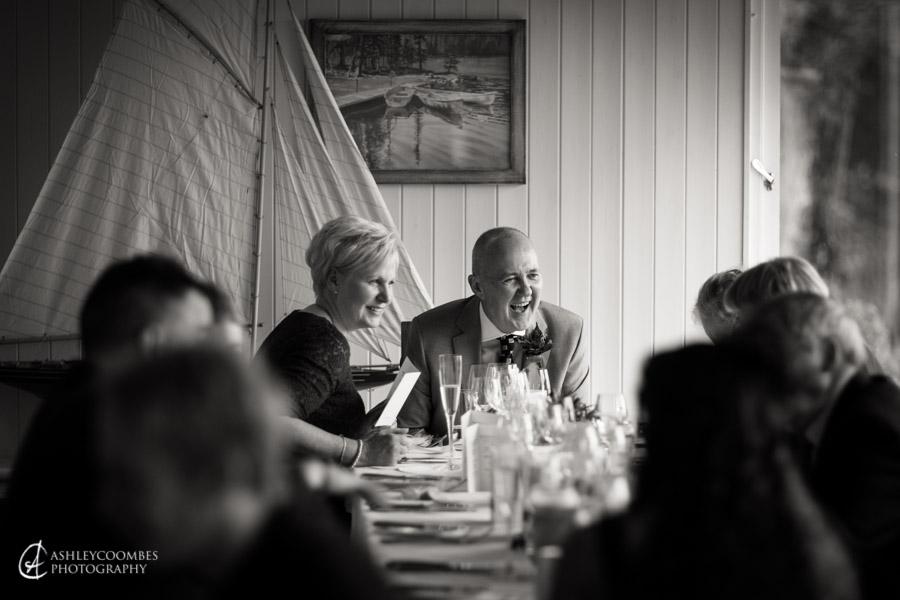 Lake of Menteith wedding speeches