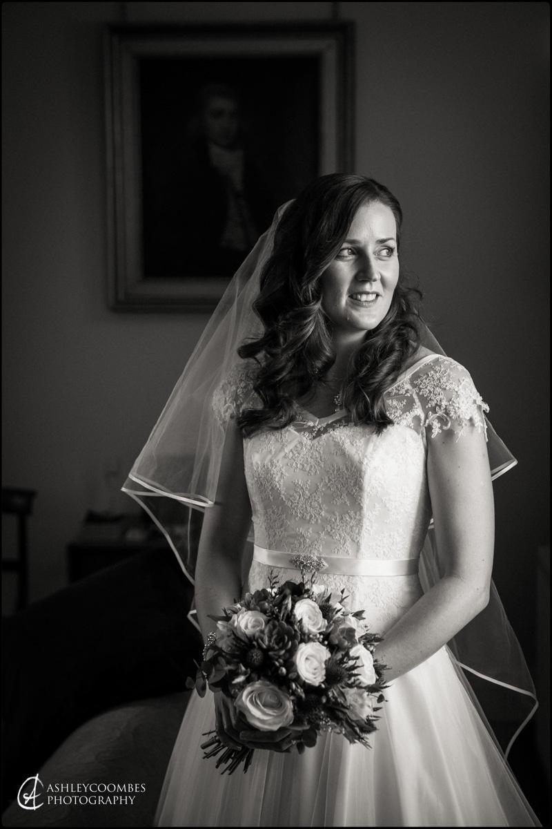 Winton House wedding bride portrait