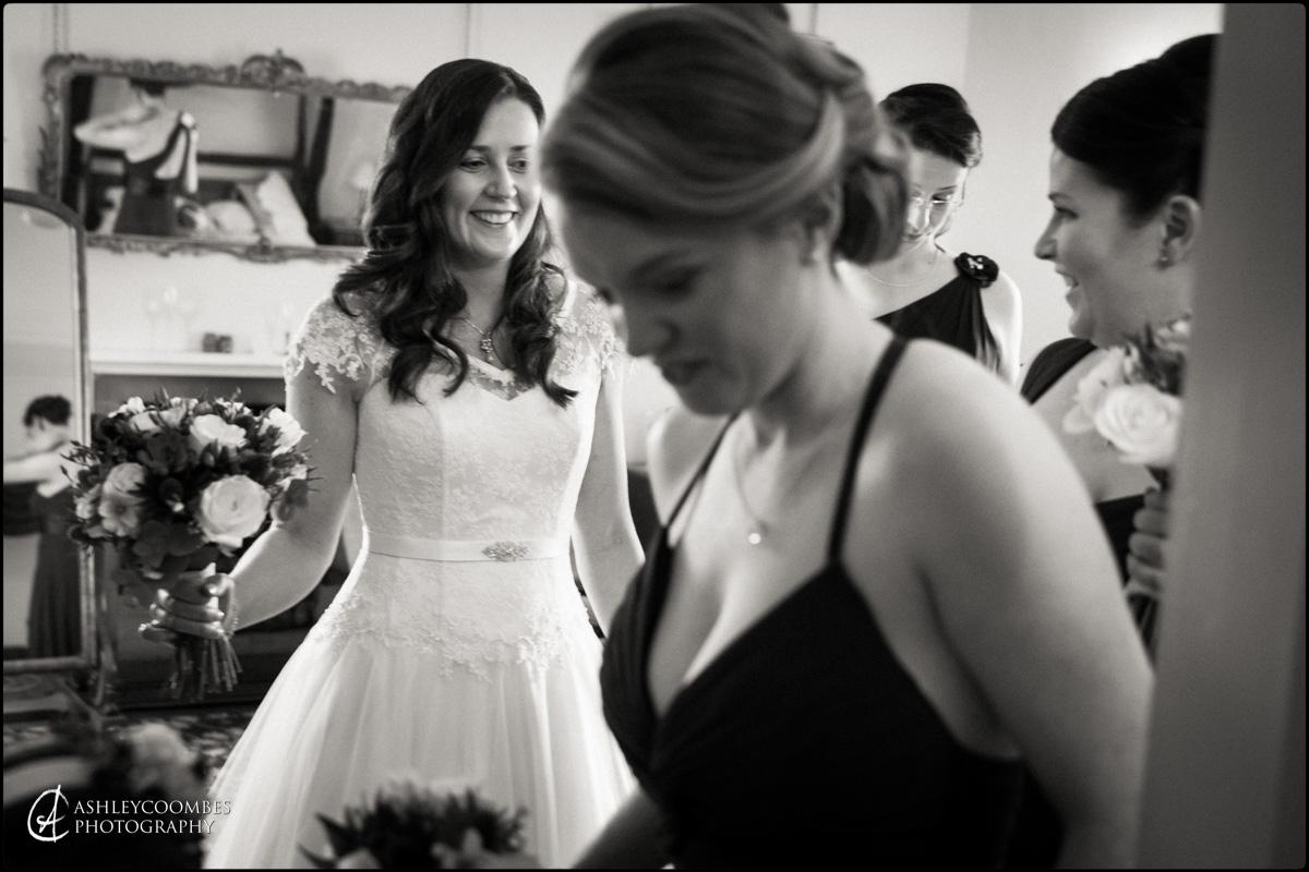 Winton House wedding bride preparations