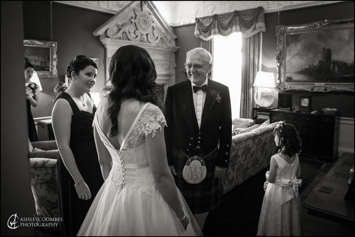 Winton House wedding bride