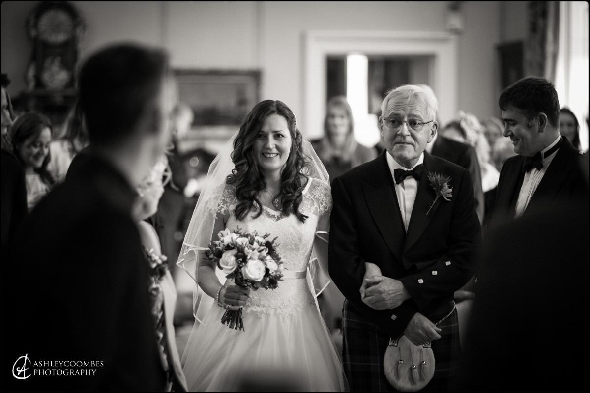 Winton House wedding ceremony