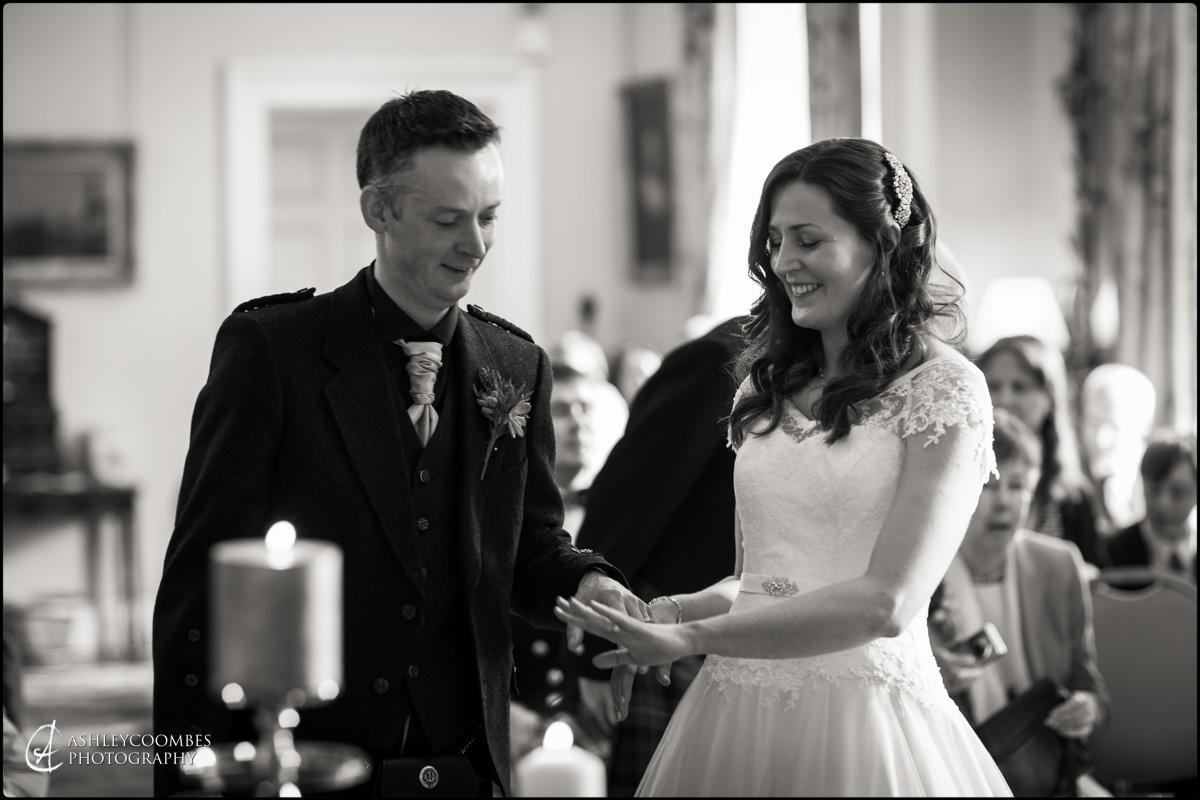 Winton House wedding bride groom