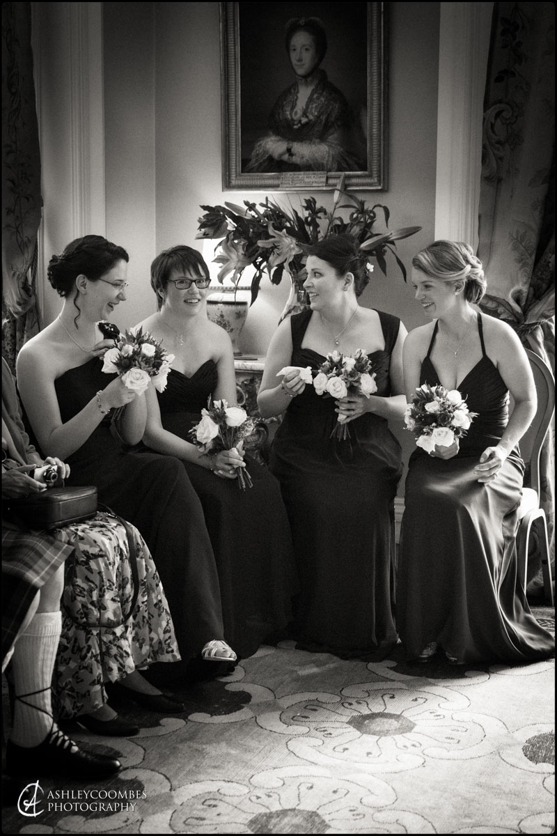 Winton House bridesmaids