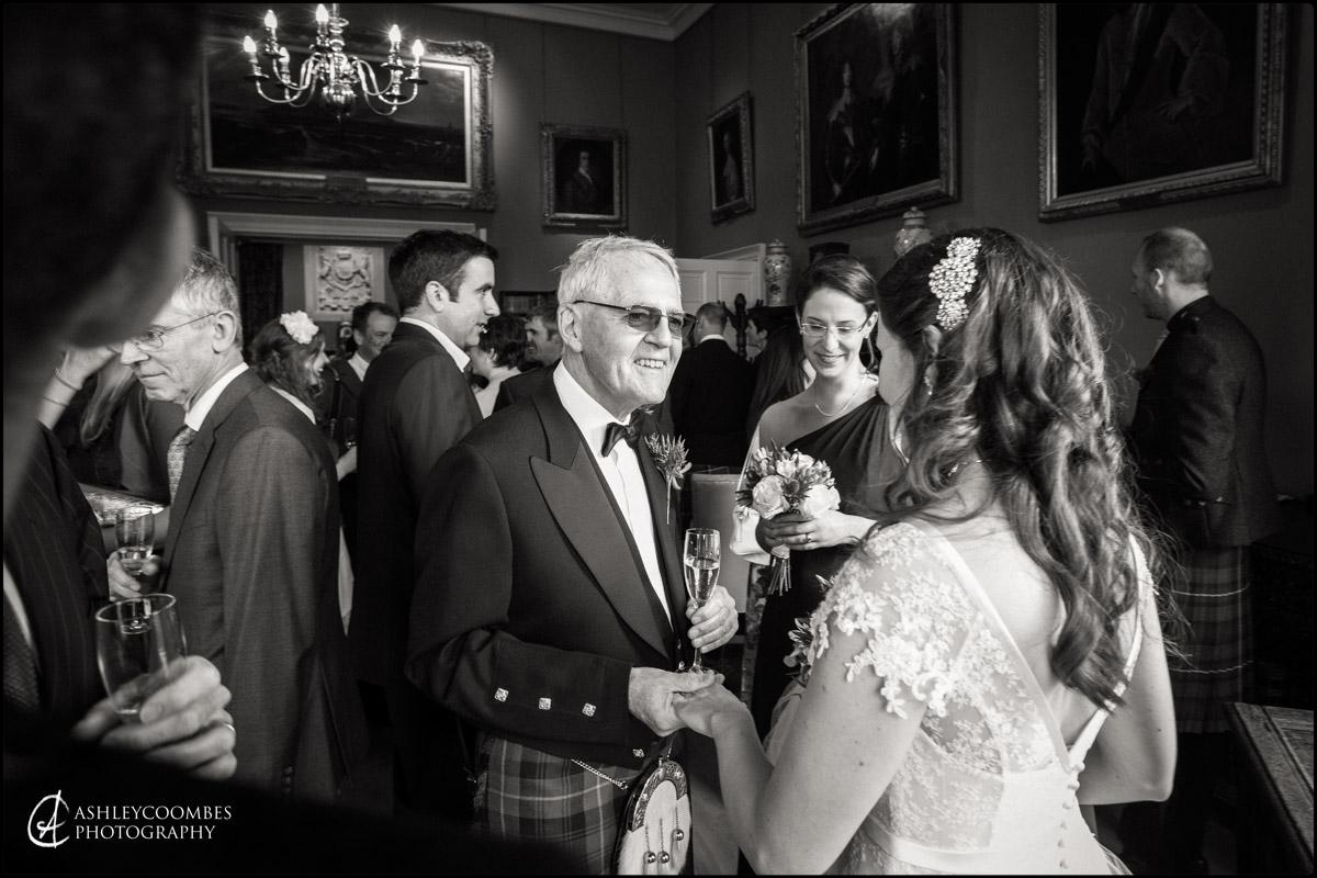 Winton House wedding reception