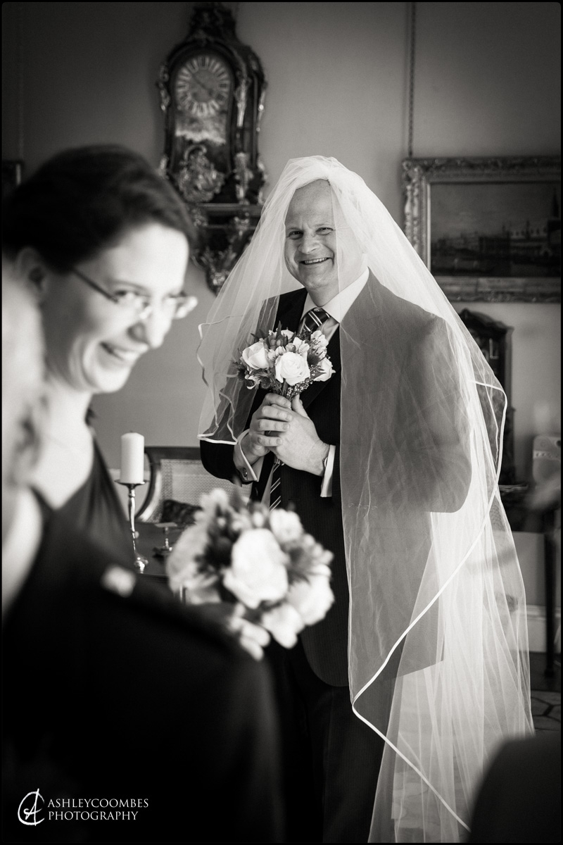Winton House brides father