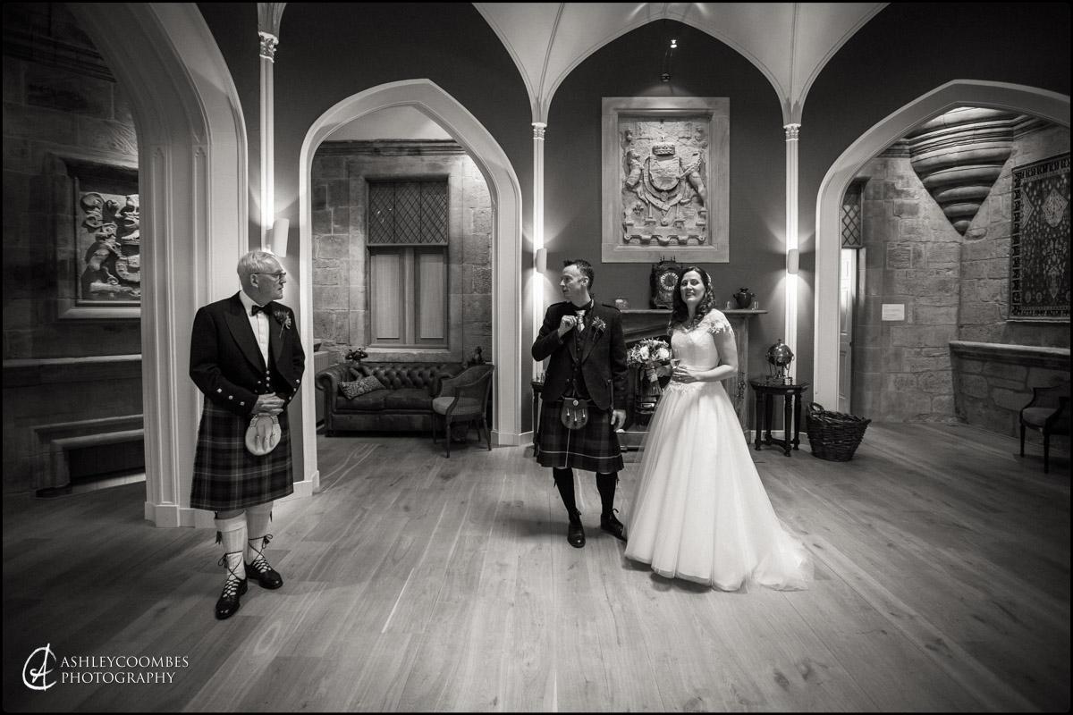 Winton House bride groom