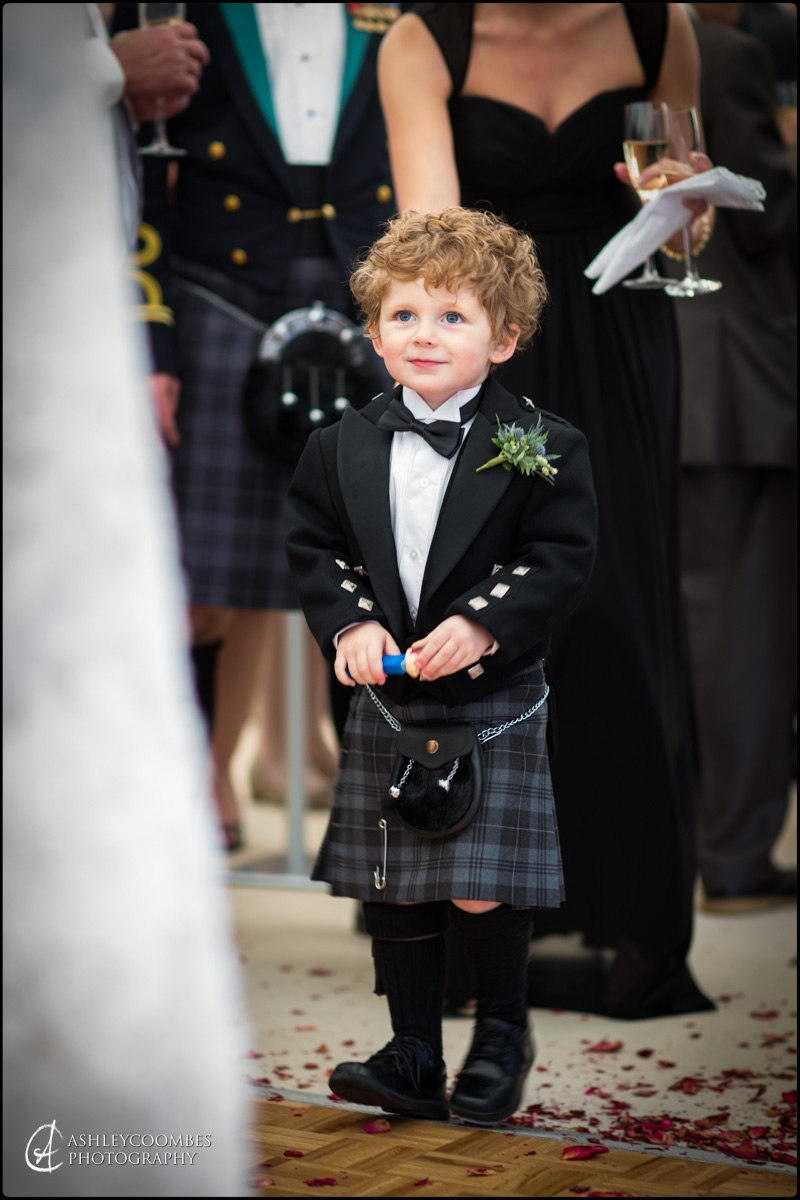 Abbotsford wedding page boy