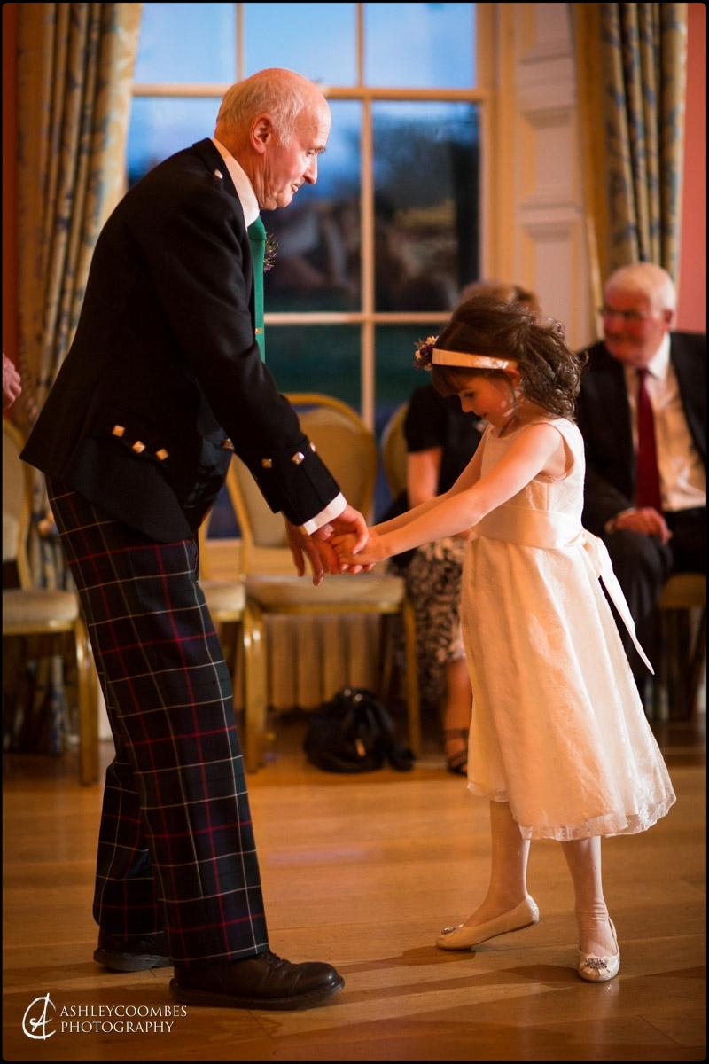 Winton House bridesmaid grandpa