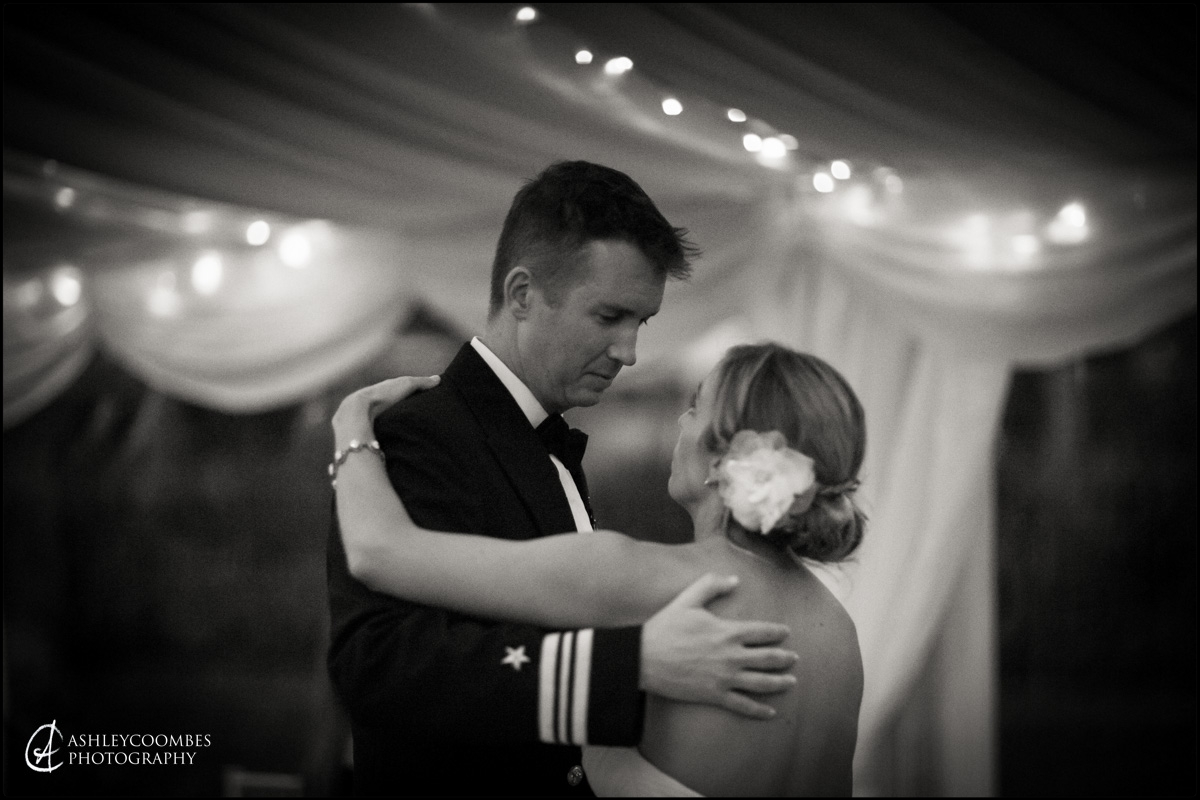 First dance, Abbotsford wedding