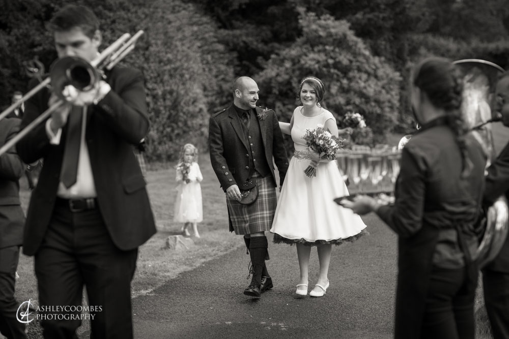 Duchray Castle wedding