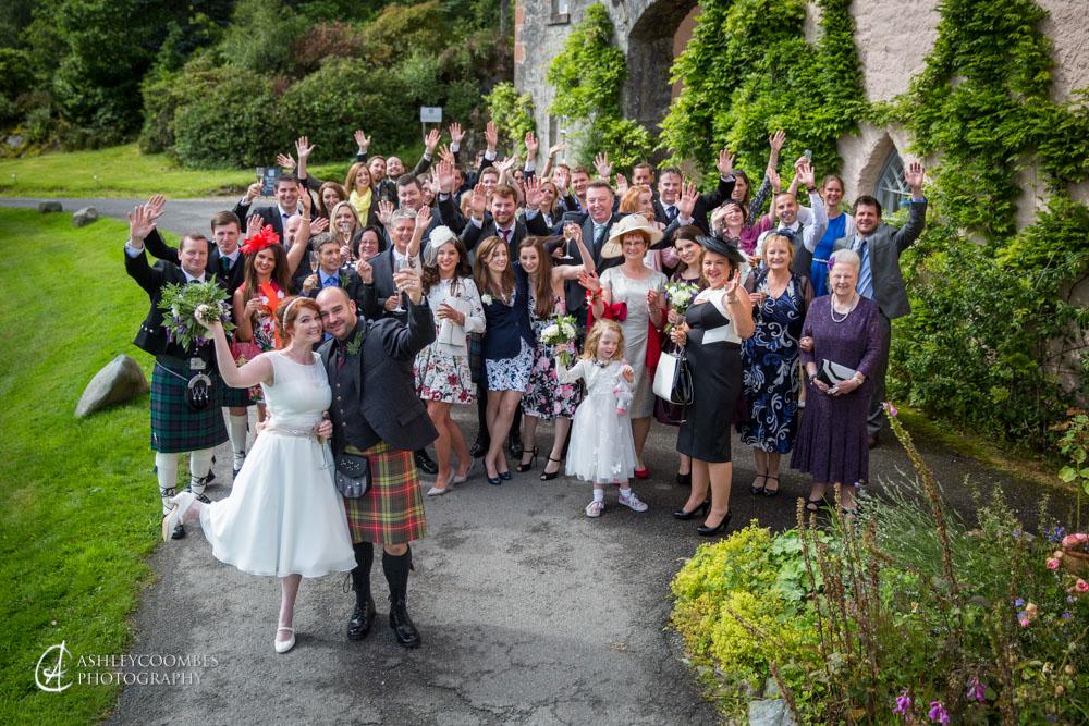 Duchray Castle wedding
