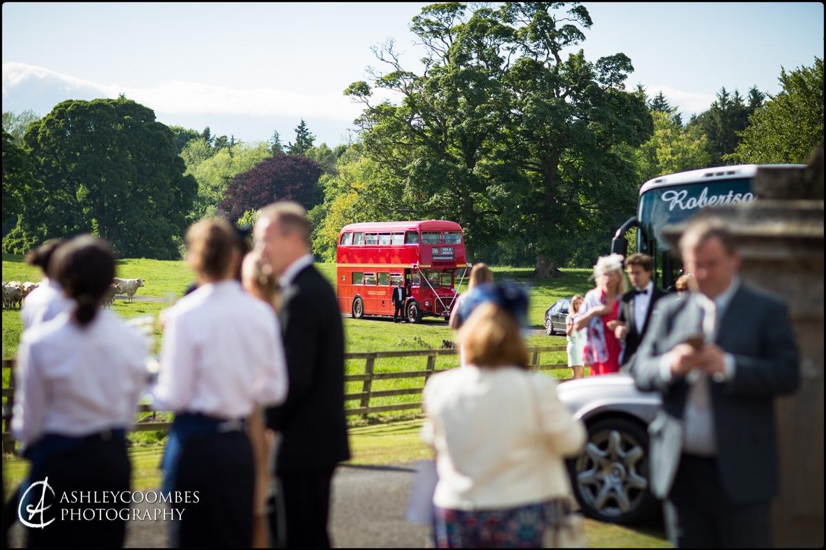London bus wedding transport