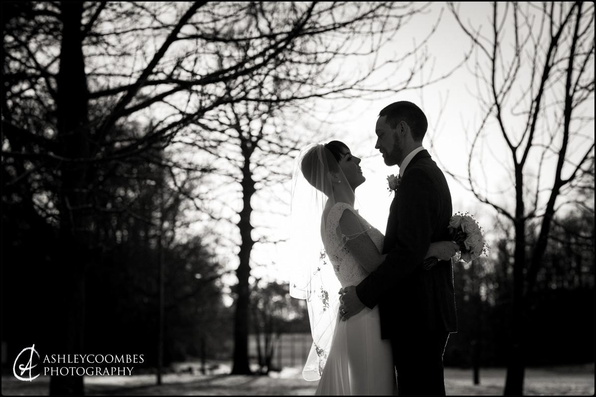 Balbirnie House Wedding winter