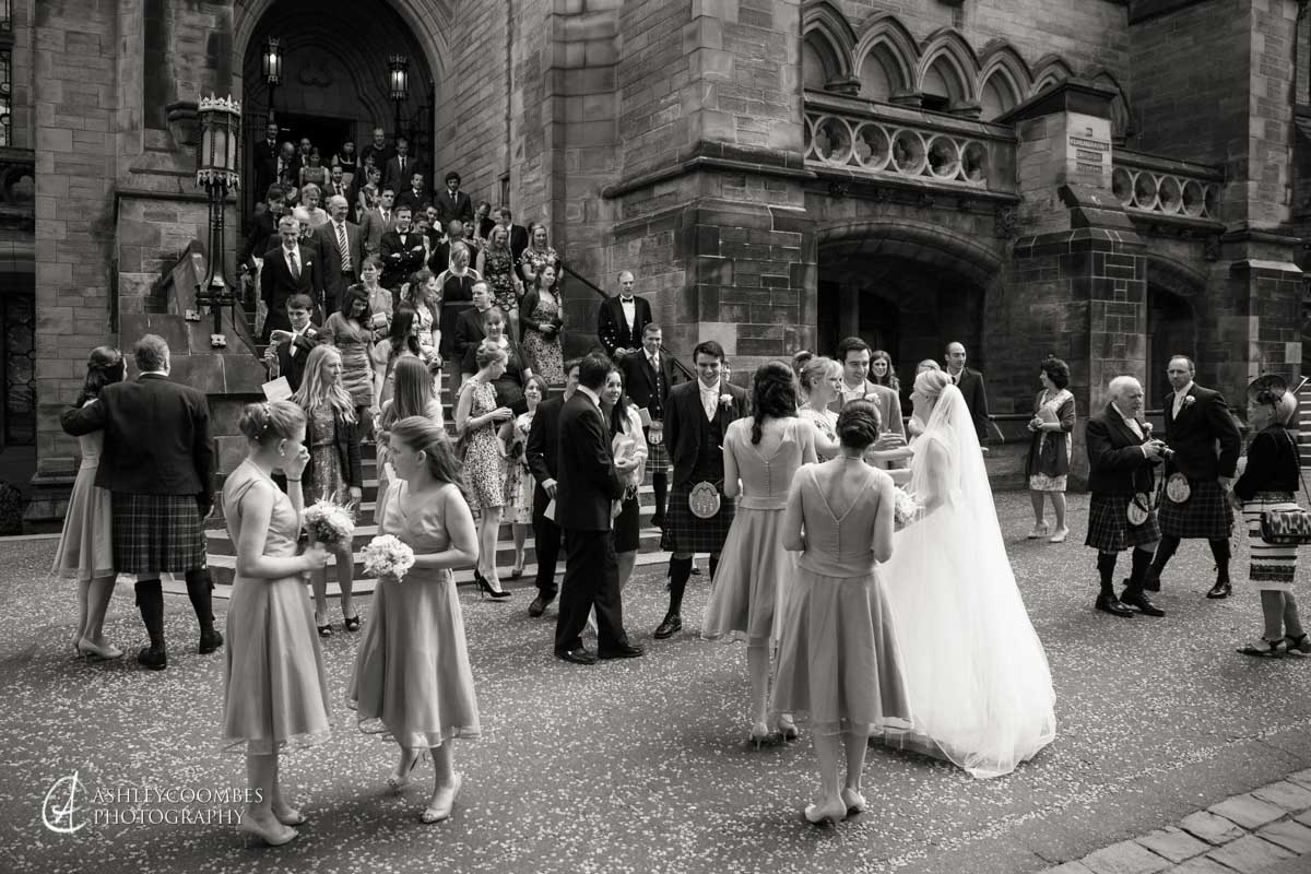 Glasgow University Wedding