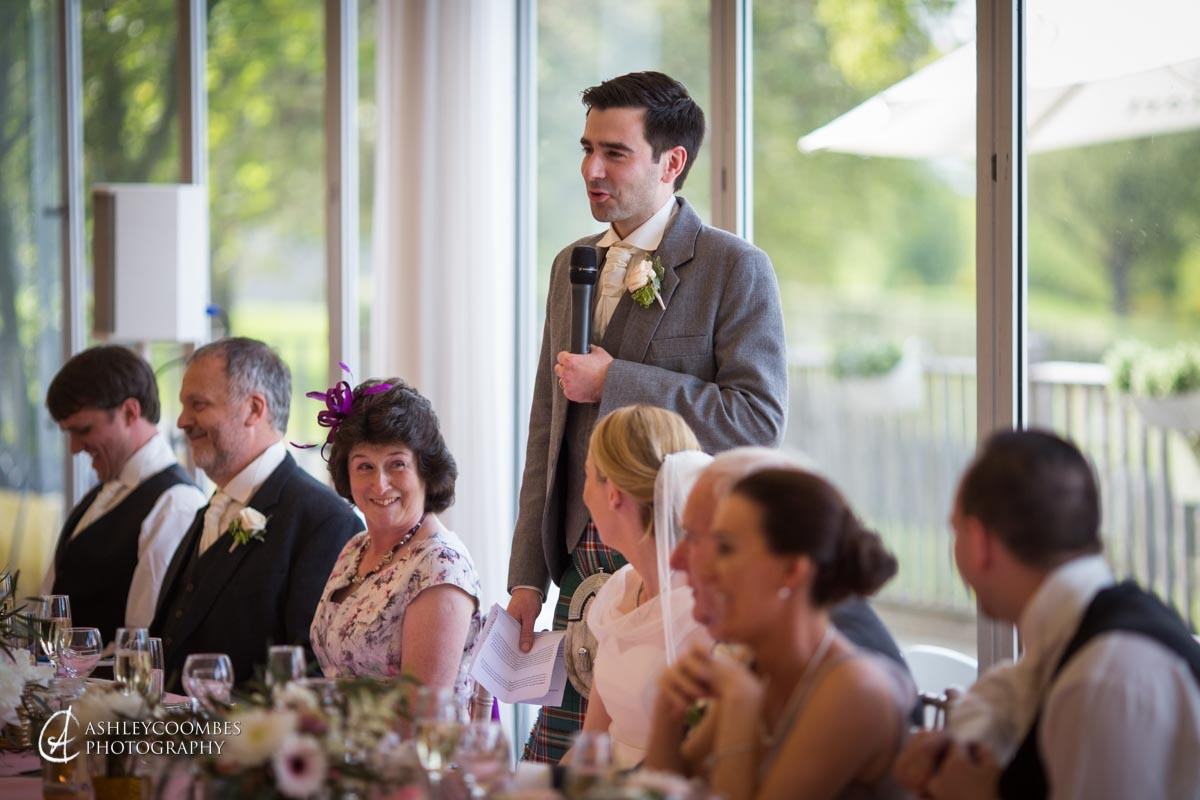 Mar Hall wedding speeches