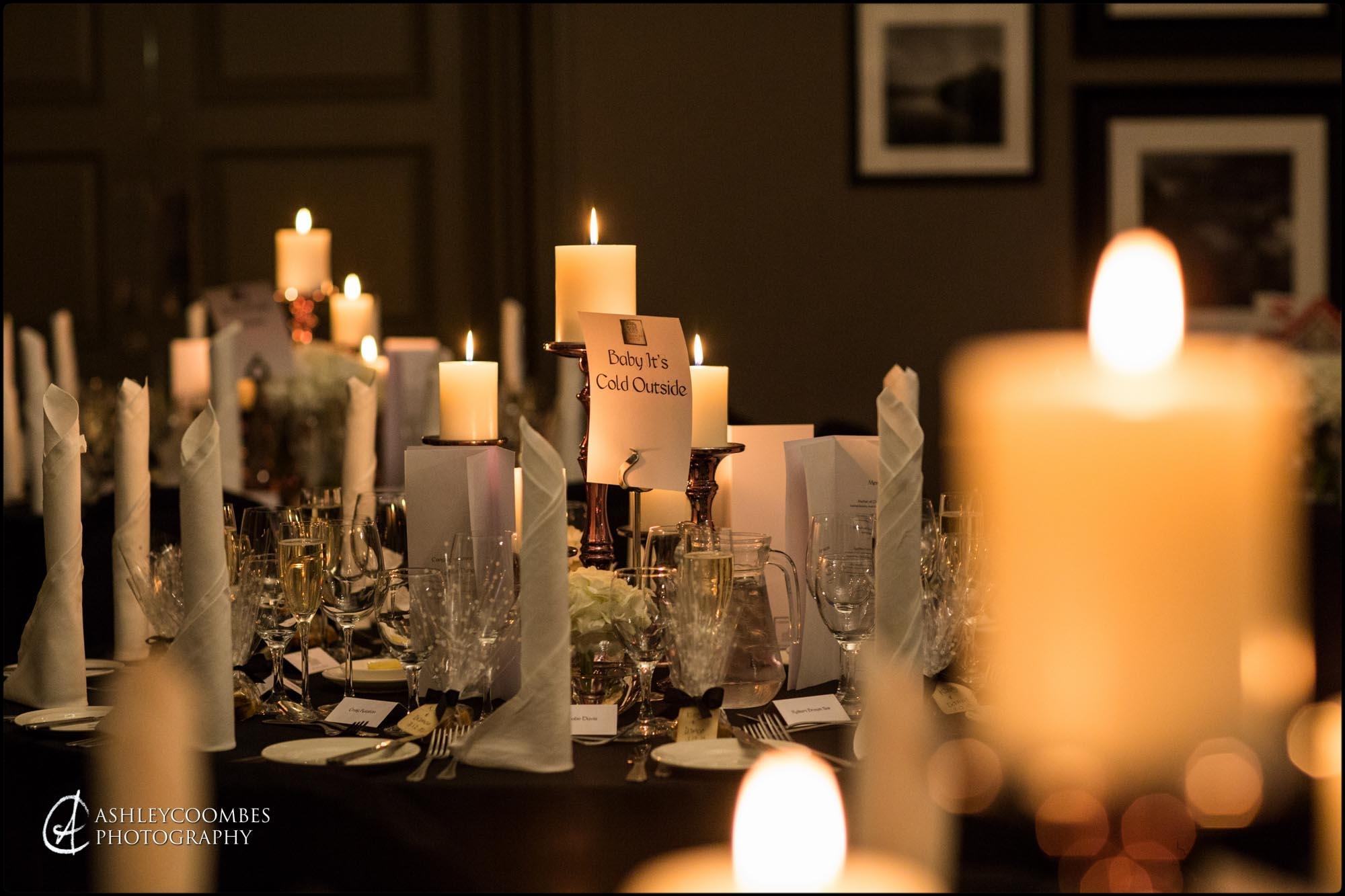 Cameron House winter wedding