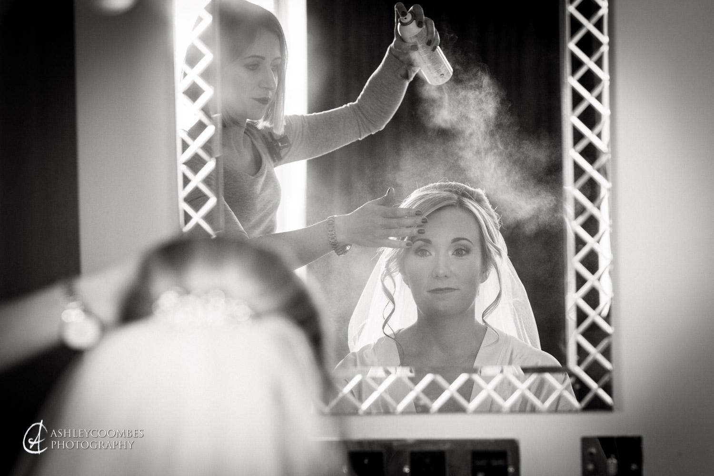 Lauren's bridal prep