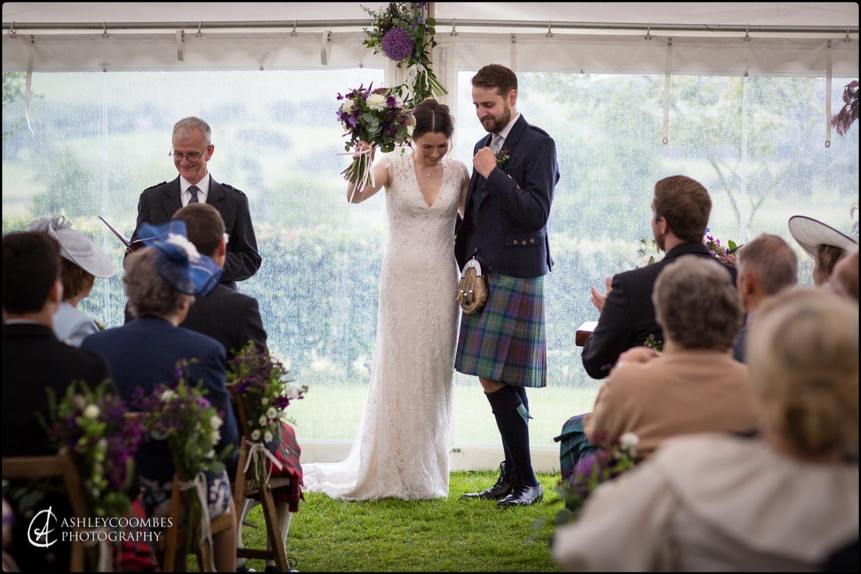 Biggar Marquee Wedding Photography
