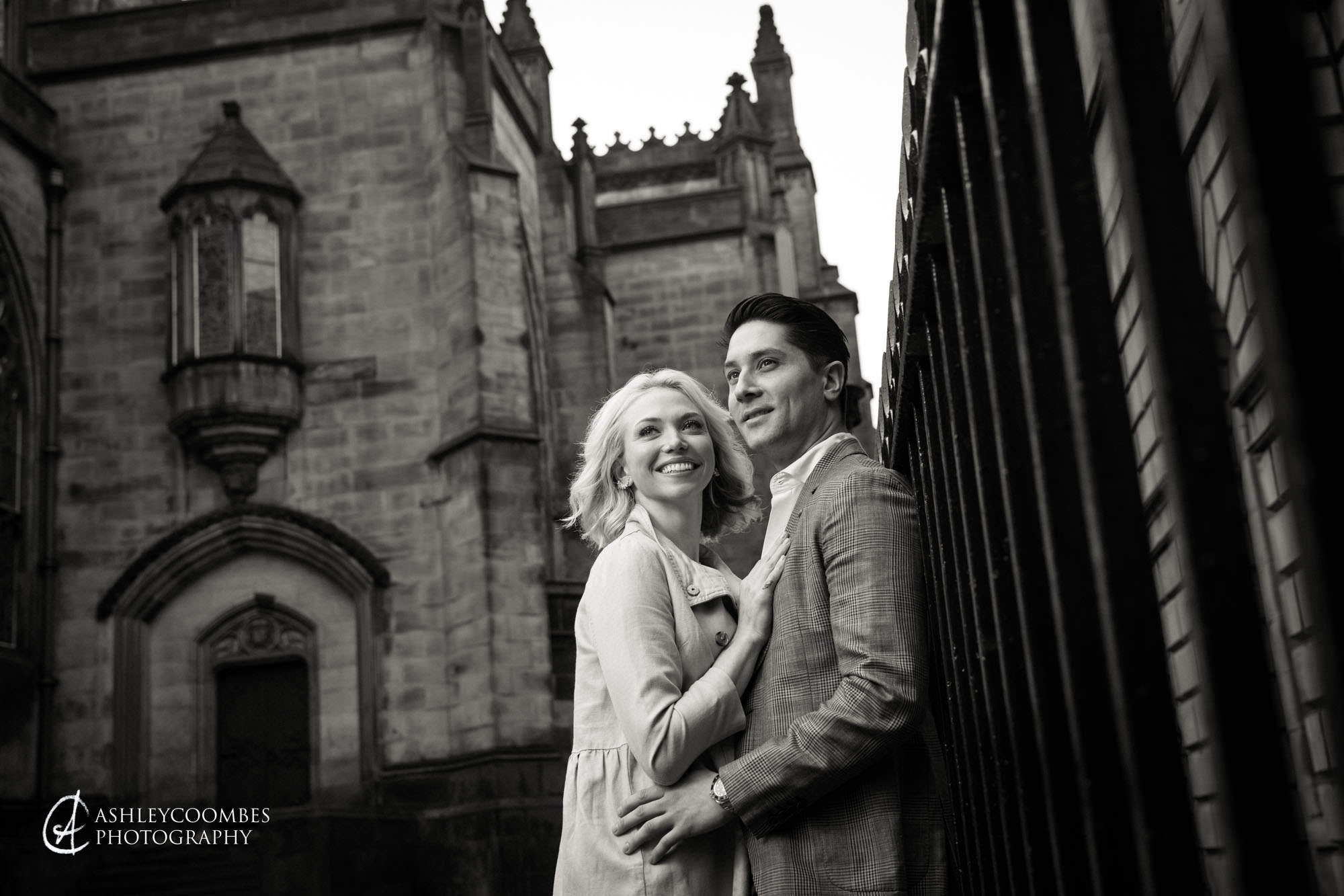 Signet Library Engagement shoot