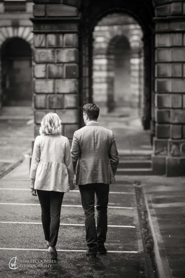 Royal Mile Engagement shoot