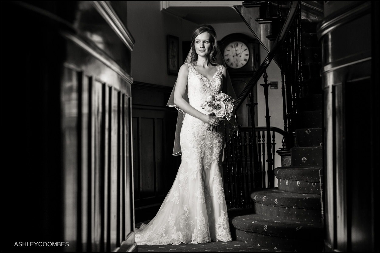 Myres Castle wedding bride portrait