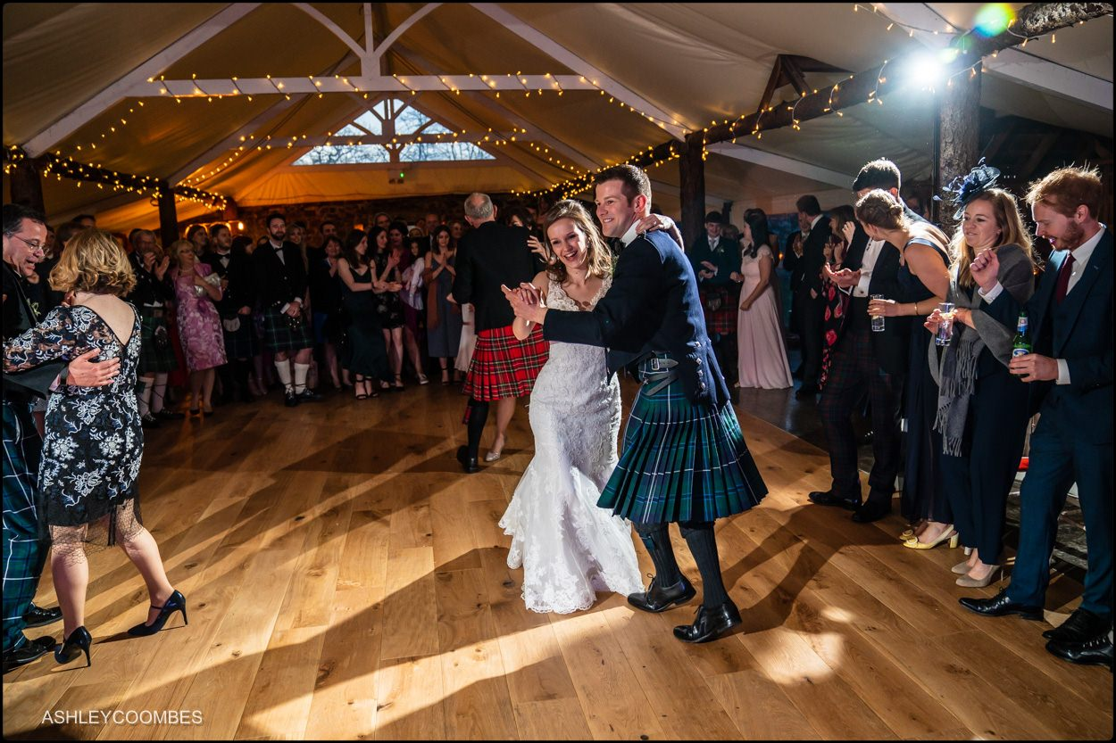 Myres Castle wedding dancing