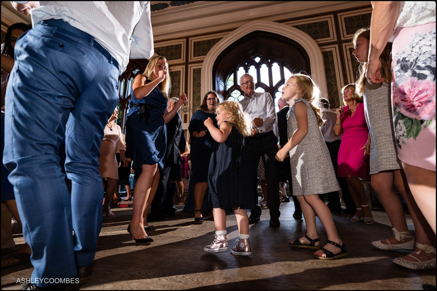 kids on dance floor
