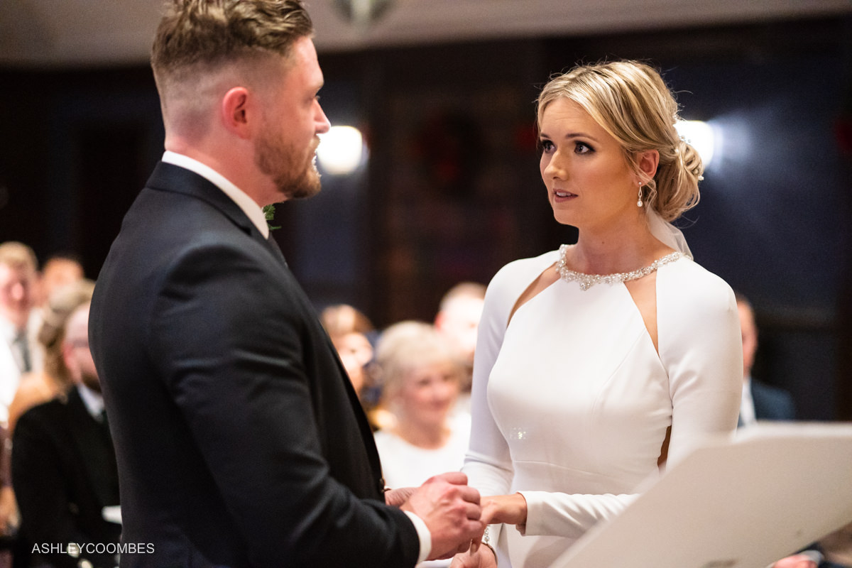 Cornhill Castle Wedding vows