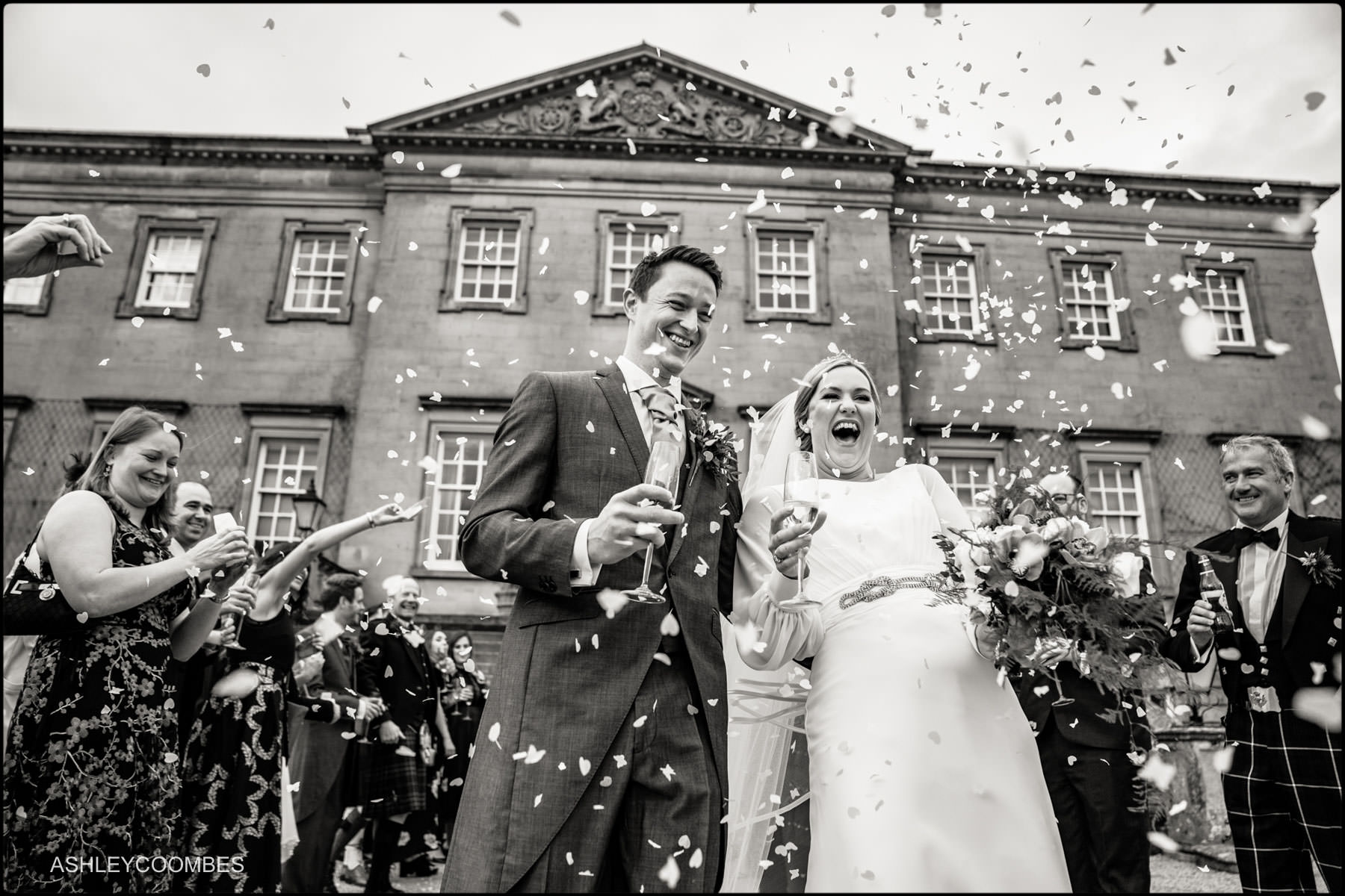 Dumfries House confetti run