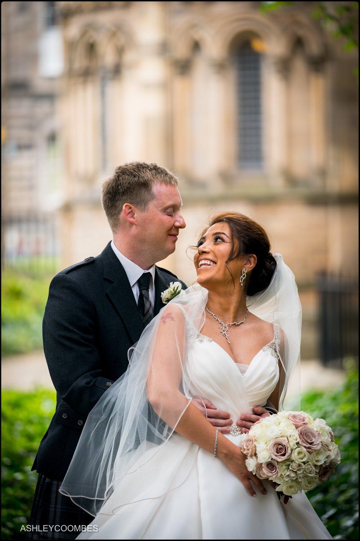 Couple portraits Mansfield Traquair Wedding