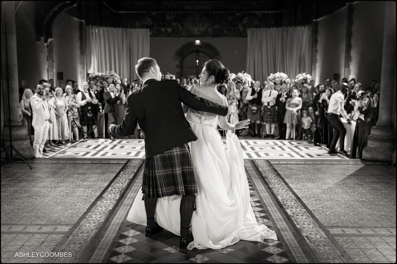First dance Mansfield Traquair Wedding