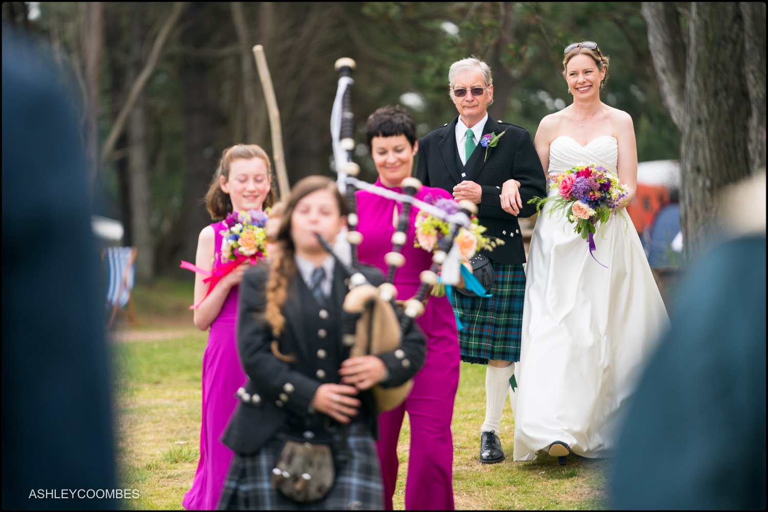 Ravensheugh Log Cabin Wedding