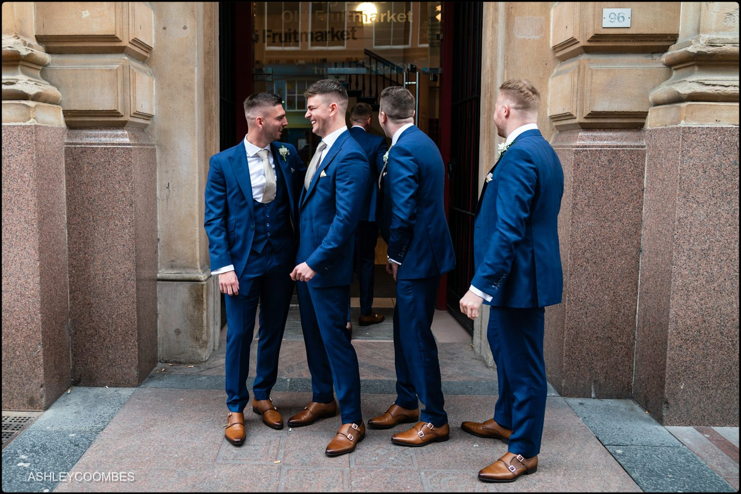 Old Fruit Market Wedding Ashley Coombes Photography