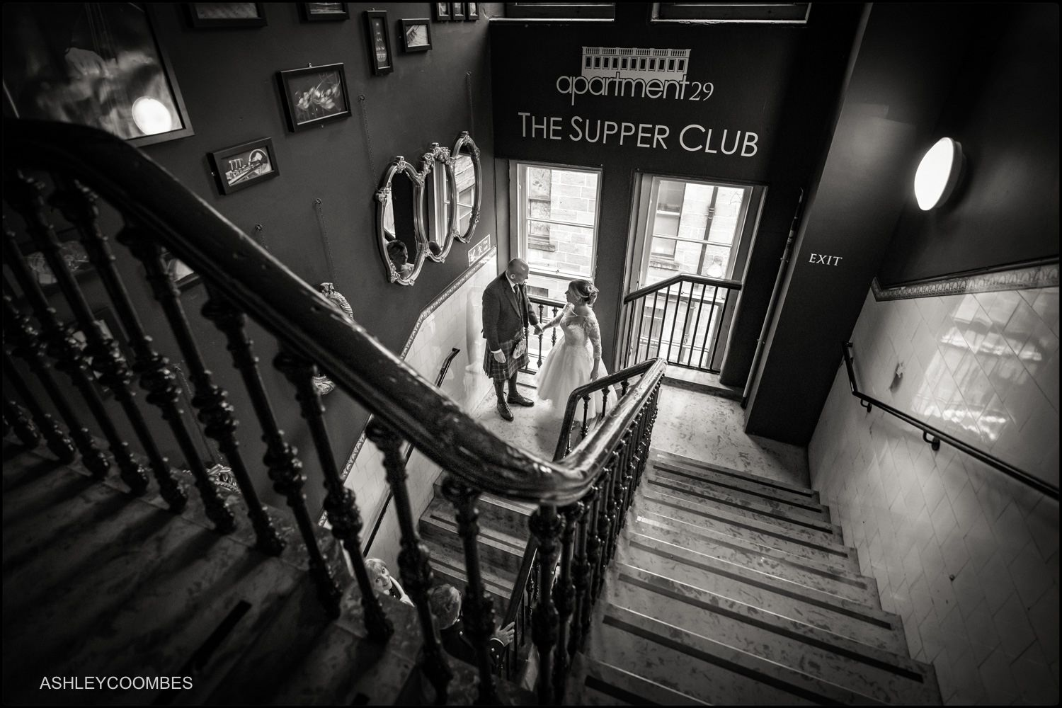 Apartment 29, The Supper Club wedding. 29 Glasgow