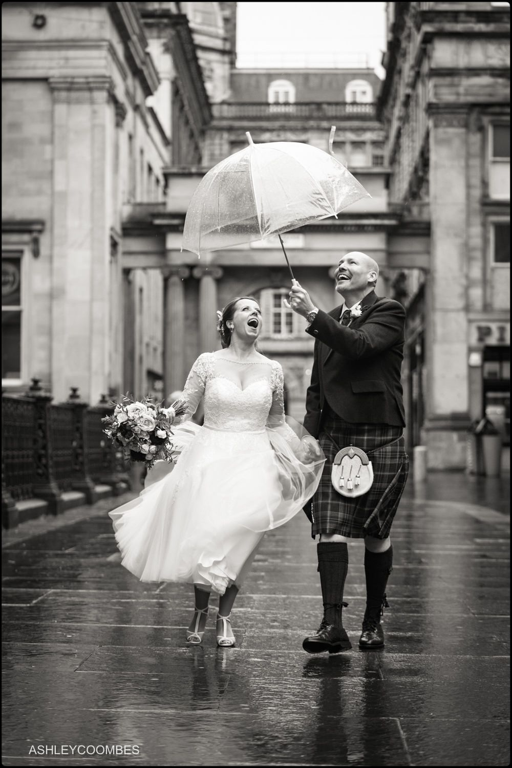 Wedding Portraits 29 Glasgow Royal Exchange Square