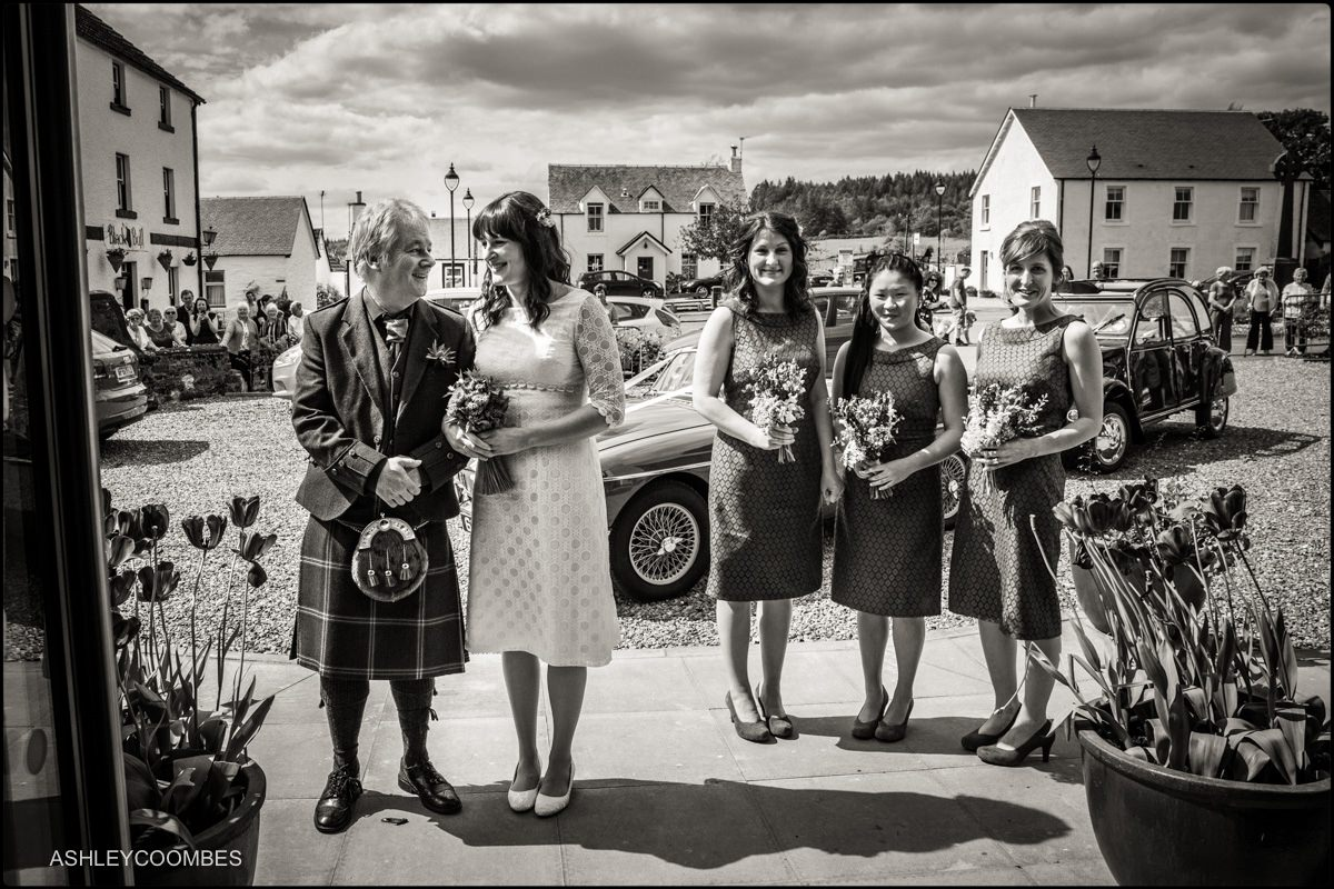 Wedding Photographer Gartmore